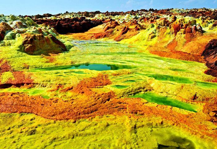 Опасное место: пустыня Данакиль.