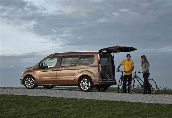 Ford Grand Tourneo Connect.