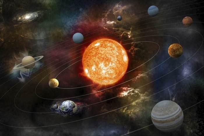 Солнечная система: скорость вращения 220-240 км/с.