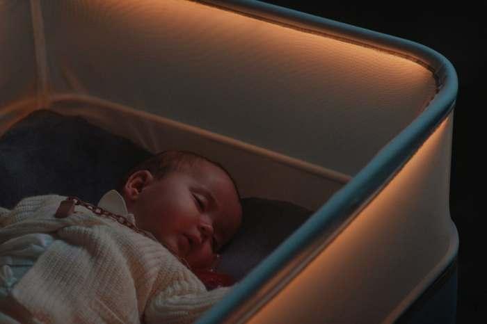Кроватка для самых непоседливых малышей.