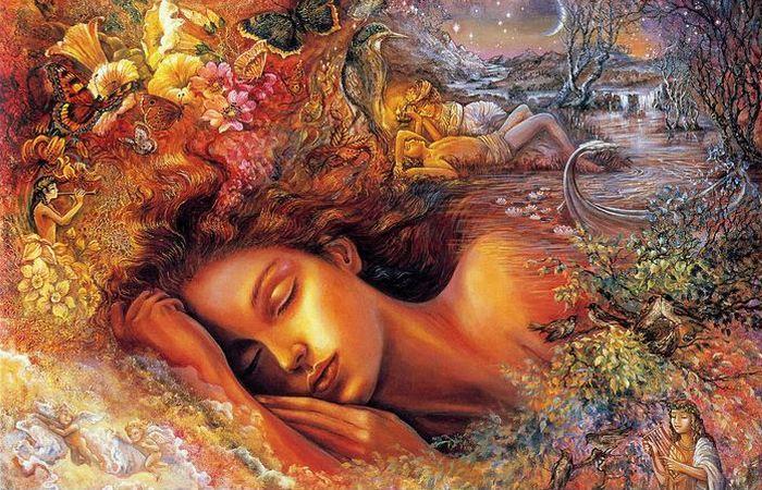 Персиковые сны...