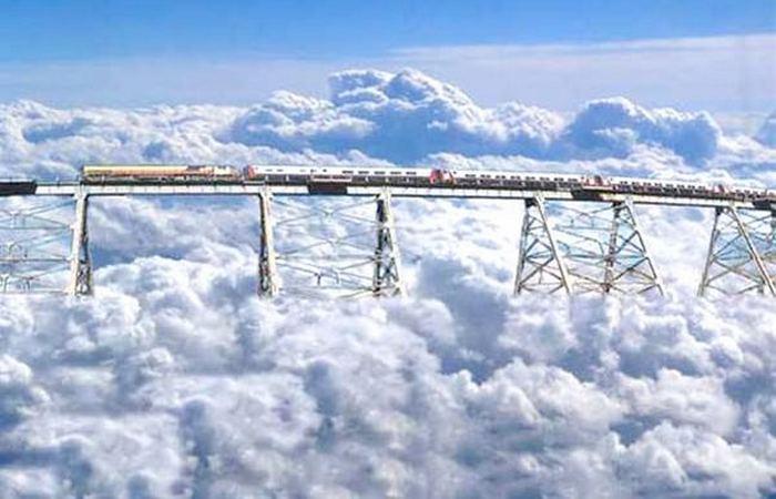 Завораживает и пугает: «Железная дорога Tren a las Nubes».