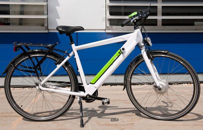 Электровелосипед от IKEA.