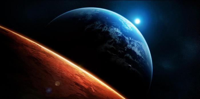 Взгляд на Землю.