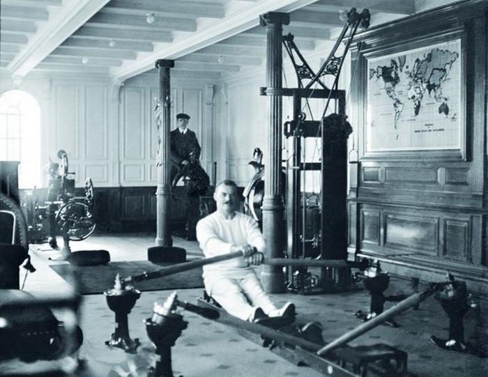 На борту Титаника было всё для отдыха пассажиров.