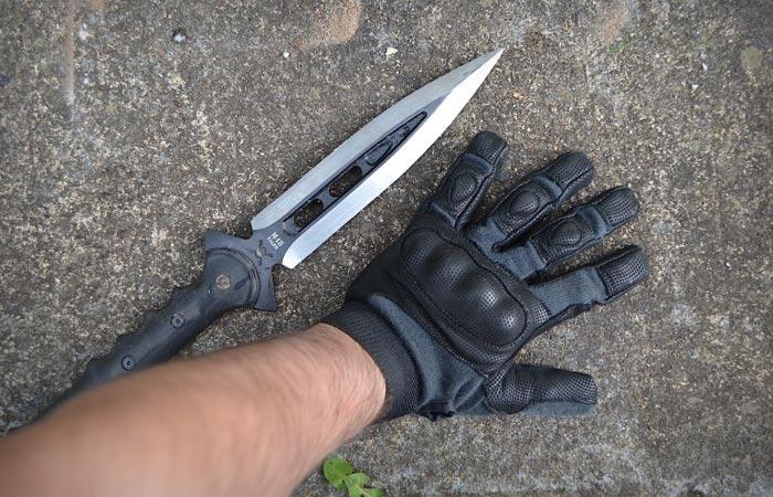 Грозный инструмент охоты.