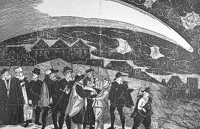 Большая комета 1577 года.