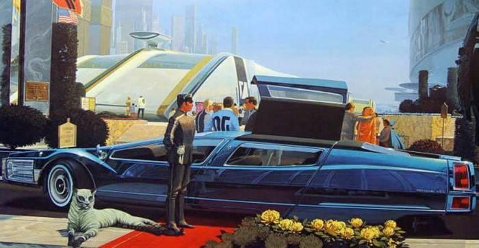 Автомобили будущего, которое так и не наступило.