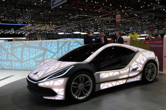 Немецкий экспериментальный автомобиль Light Cocoon.