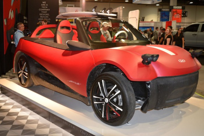 Автомобиль LM3D.