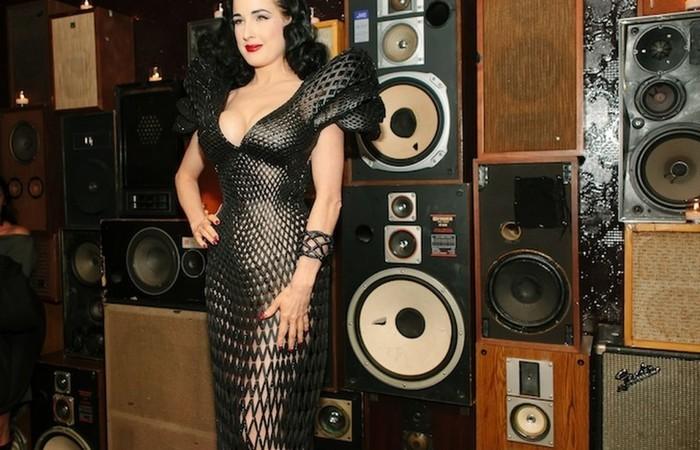 3D-напечатанное платье.