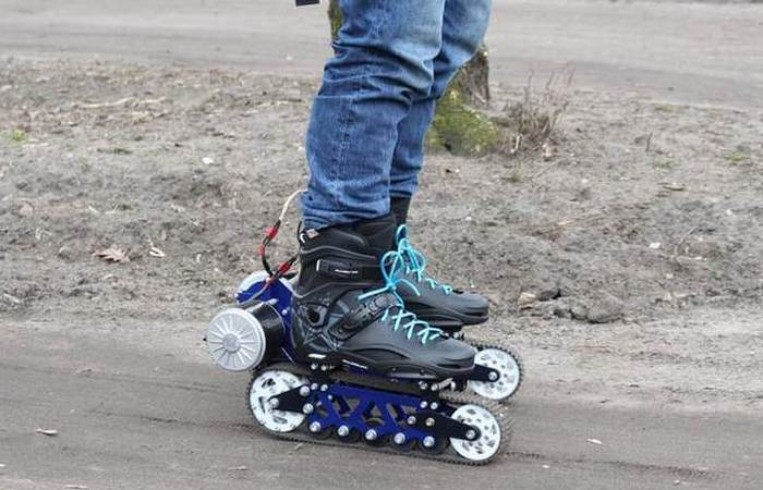 Electric off roaad rollerblade 3 - ролики для бездорожья.