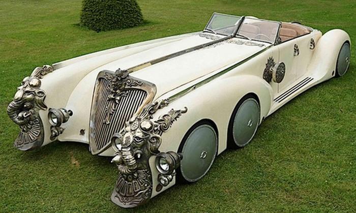 Nautilus Car и другие автомобили-шестиколёсники.