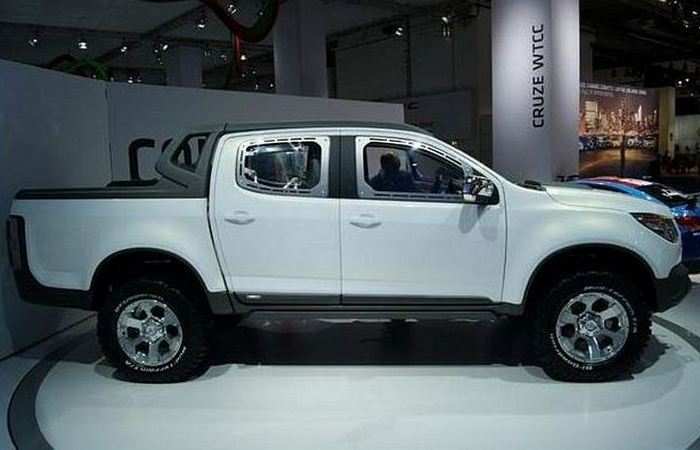 Концепт Chevrolet Colorado Concept.
