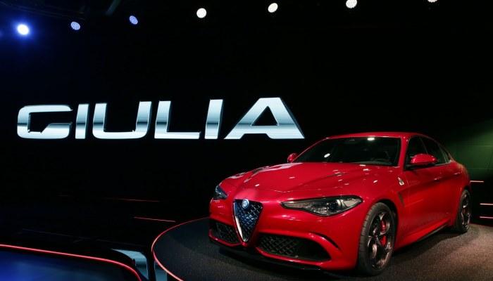 Alfa Romeo Giulia во плоти.