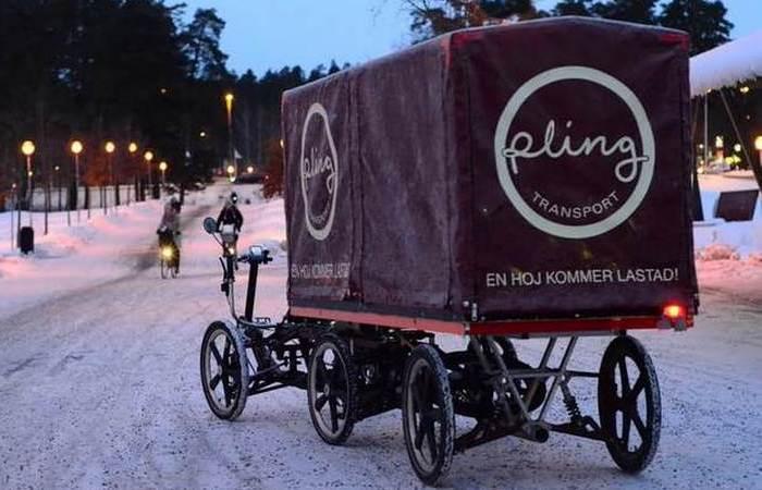 Armadillo - велосипед для перевозки грузов.