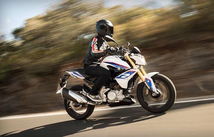 Новый юбилейный мотоцикл BMW.