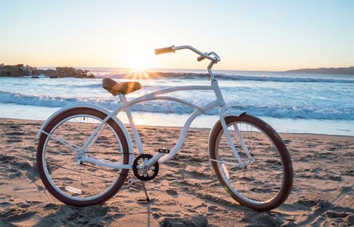 Пляжный велосипед.