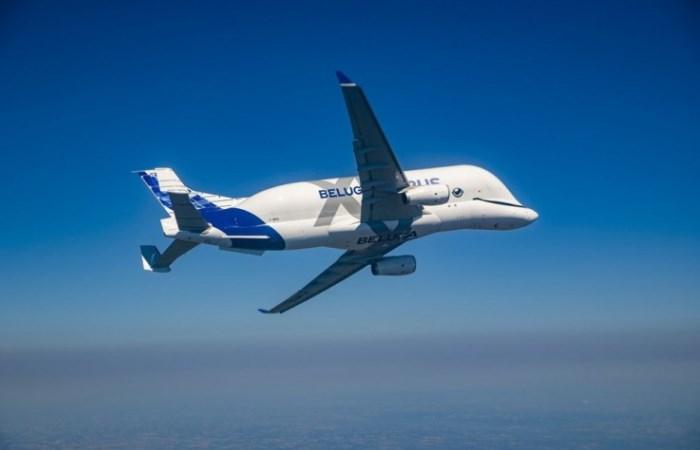 Самолет BelugaXL не будет знать себе равных.