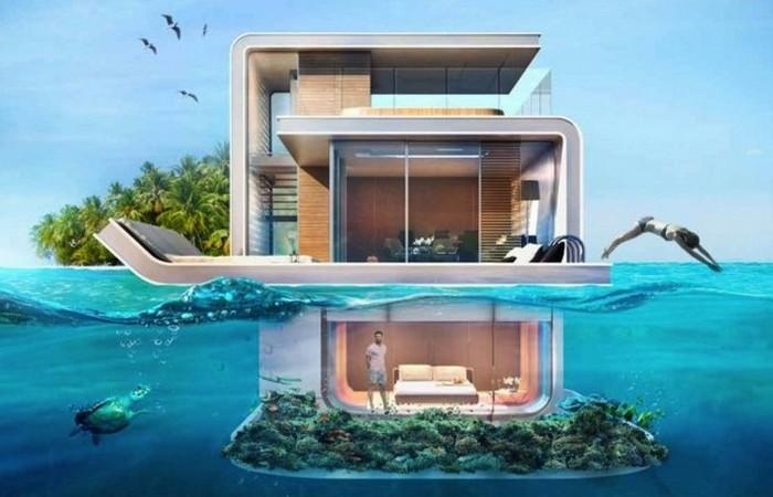 Плавающие виллы Морской конек.