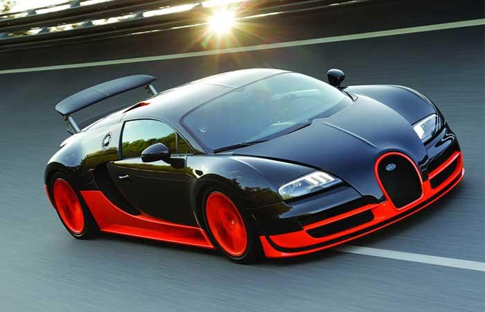 Bugatti Veyron и другие скоростные авто.