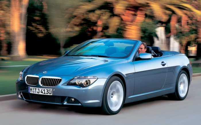 BMW 6-series.