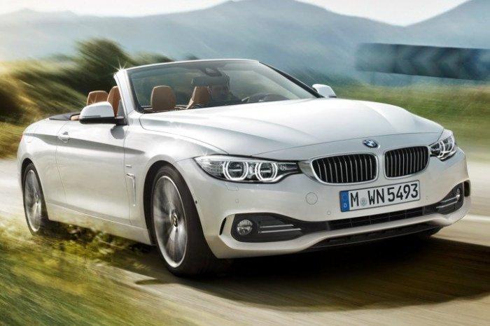 Автомобиль BMW 4 Series.