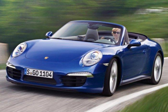 Автомобиль Porsche 911 Cabriolet.