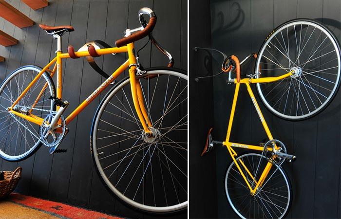 Новый держатель для велосипеда.