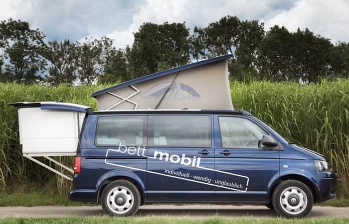 Дом на колесах Bett Mobil.