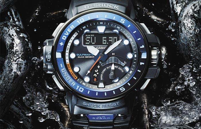 Новейшие часы для любителей моря.