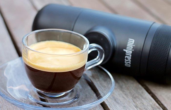 Карманная кофемашина Wawaco Minipresso.