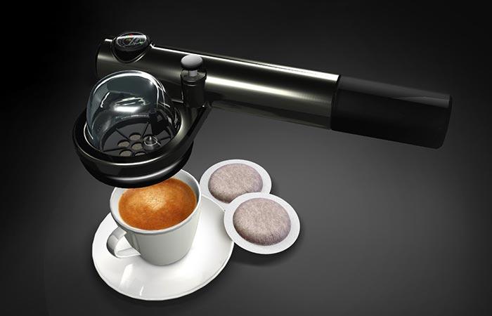 Портативная кофеварка эспрессо Handpresso Wild E.S.E.