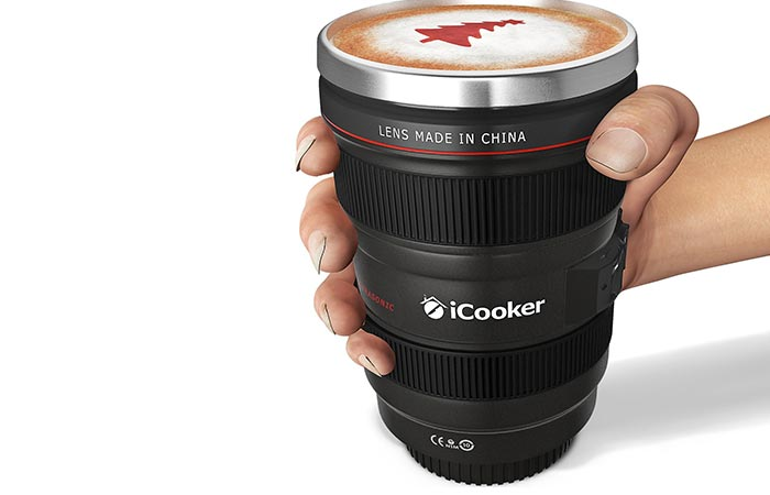 Объектив-термос iCooker camera lens thermos.