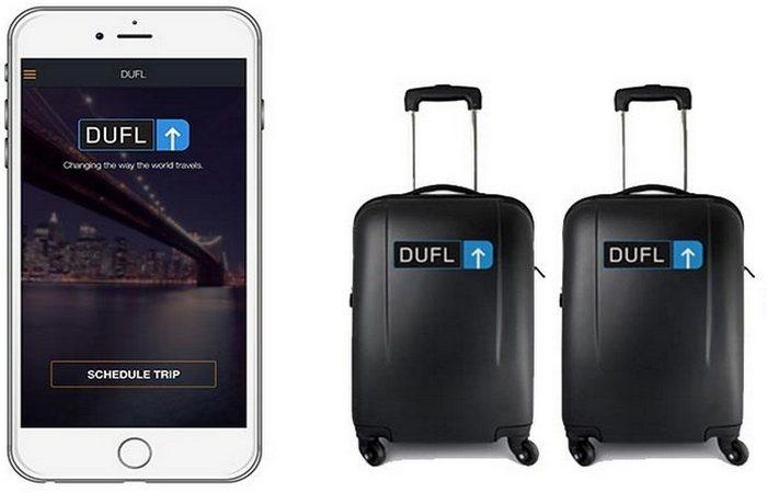 Международный сервис упаковки и доставки личных вещей Dufl.