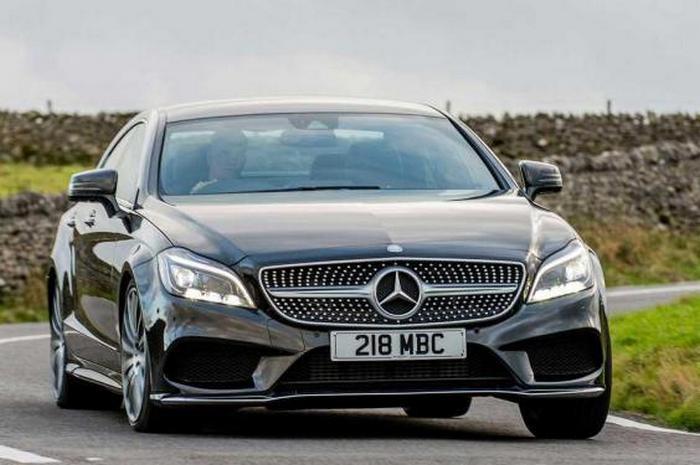Автомобиль Mercedes CLS 350 Bluetec AMG Line.