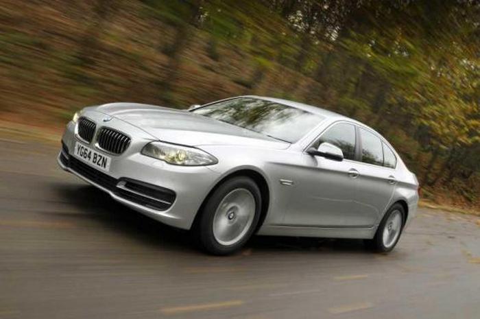Автомобиль BMW 520d SE.