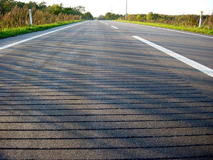 Поющее шоссе.