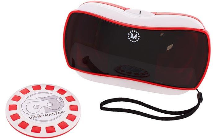 Устройство дает 360-градусный обзор.