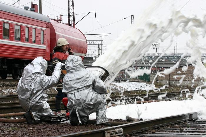 Пенное пожаротушение - Россия.