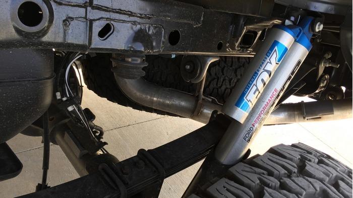 Убедительная подвеска Ford F-150 Raptor.