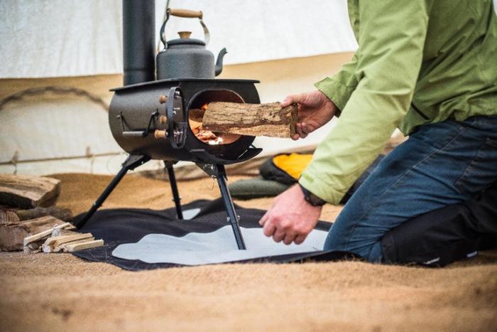 мини печка для рыбалки своими руками