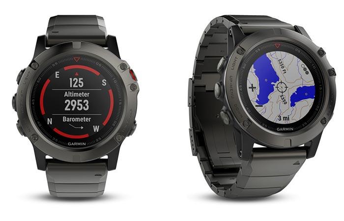 Fenix 5 Smartwatch: стильно и информативно.