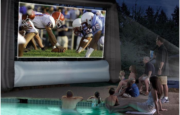 Мобильный экран Giant Inflatable Movie Screen.