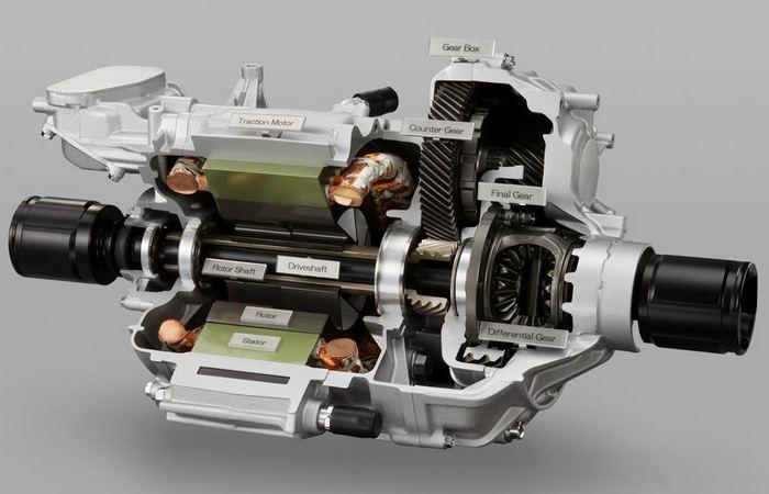 Мощность водородного двигателя 175 лошадиных сил.