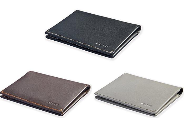 Ikepod Super Slim Leather Wallet: экологичность и разнообразие цветов.