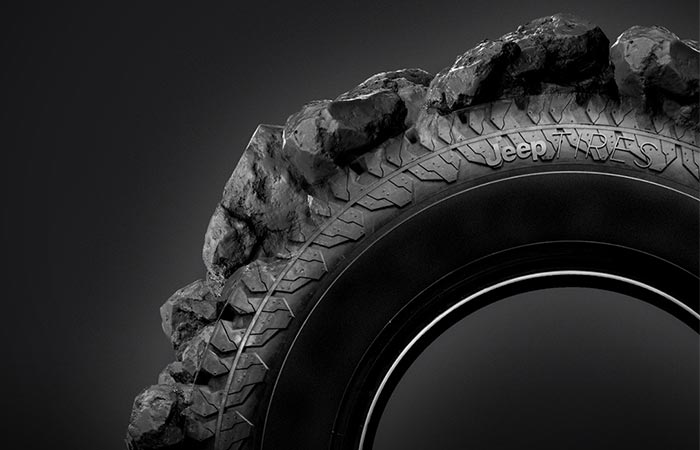 Jeep Adventure Tires.