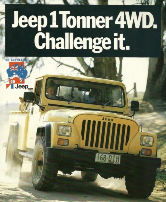 Еще один гадкий утенок - Jeep CJ-10.