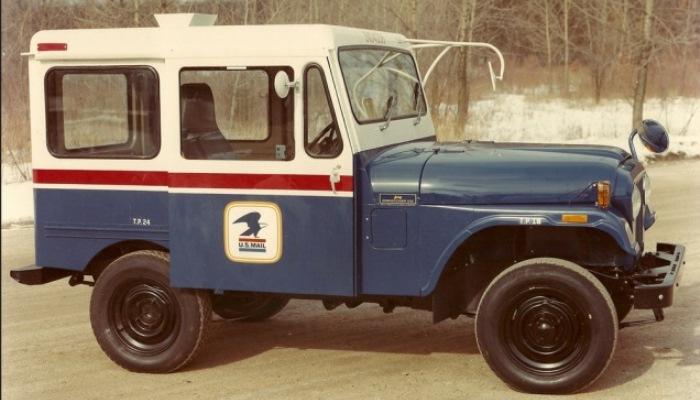Почтальон Jeep Dispatcher Jeep.