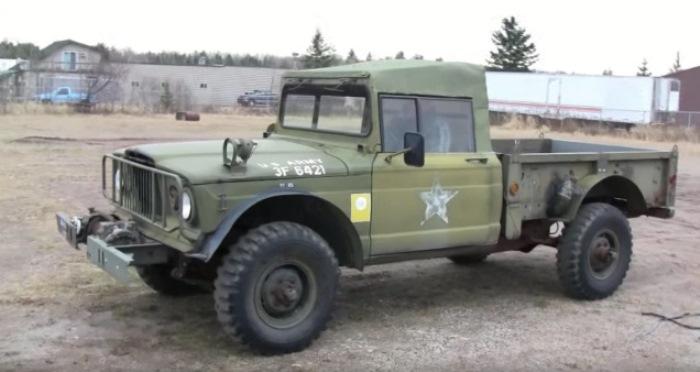 Простой и надежный Kaiser Jeep M715.